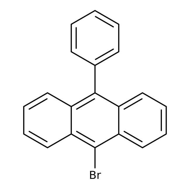 Alfa Aesar™9-Bromo-10-phenylanthracene, 98% 250mg Alfa Aesar™9-Bromo-10-phenylanthracene, 98%