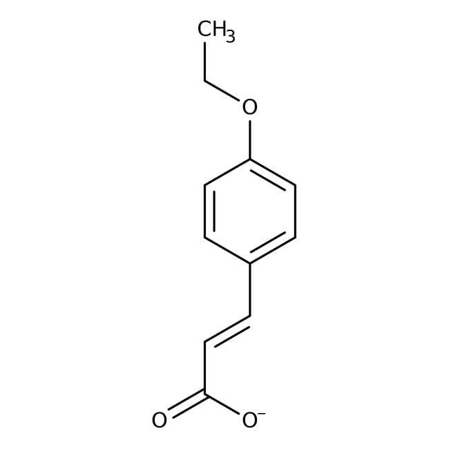 Alfa Aesar™4-Ethoxycinnamic acid, predominantly trans, 98+% 5g Alfa Aesar™4-Ethoxycinnamic acid, predominantly trans, 98+%