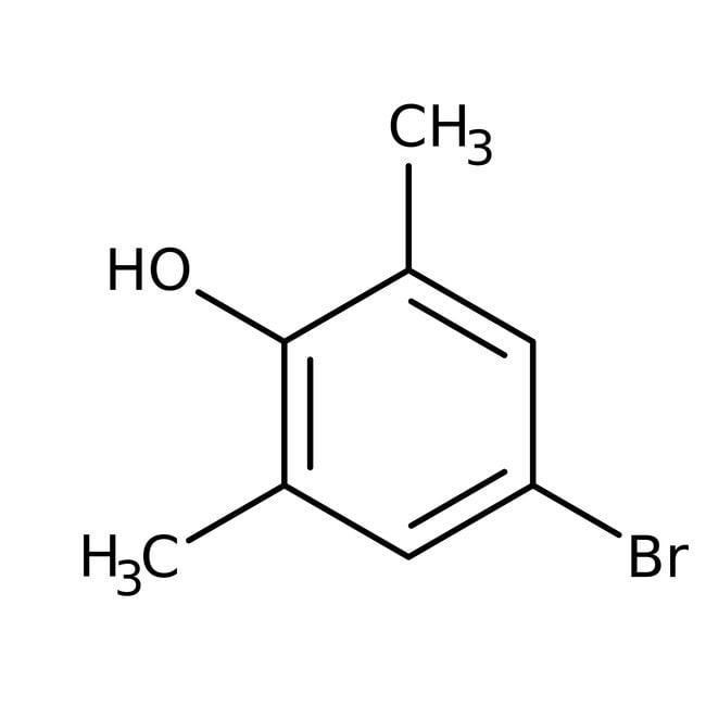 Alfa Aesar™4-Brom-2,6-Dimethylphenol, 99%: Cresols Phenols