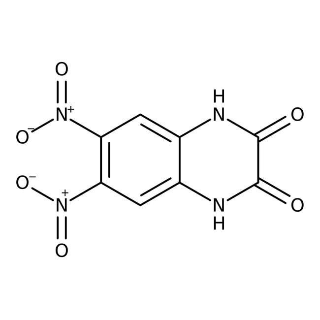 Alfa Aesar™6,7-Dinitro-1,4-dihydroquinoxaline-2,3-dione 10mg Alfa Aesar™6,7-Dinitro-1,4-dihydroquinoxaline-2,3-dione