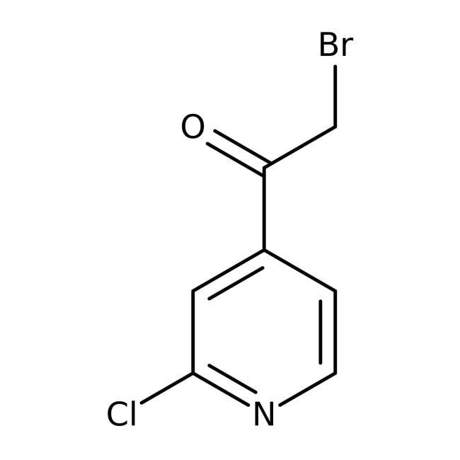 2-Bromo-1-(2-chloropyridin-4-yl)ethanone, 95%, Maybridge™