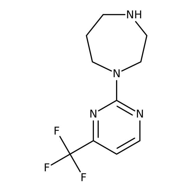1-[4-(Trifluoromethyl)pyrimidin-2-yl]-1,4-diazepane, 95%, Maybridge™