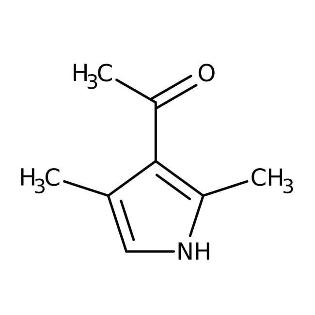 3-Acetyl-2,4-dimethylpyrrole, 98%, ACROS Organics™ 50g; Glass bottle 3-Acetyl-2,4-dimethylpyrrole, 98%, ACROS Organics™