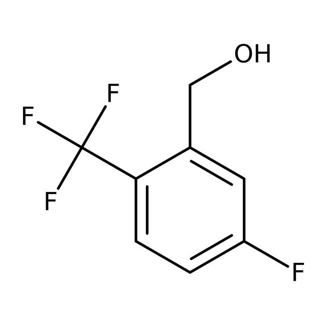 Alfa Aesar™5-Fluoro-2-(trifluoromethyl)benzyl alcohol, 97% 1g Alfa Aesar™5-Fluoro-2-(trifluoromethyl)benzyl alcohol, 97%