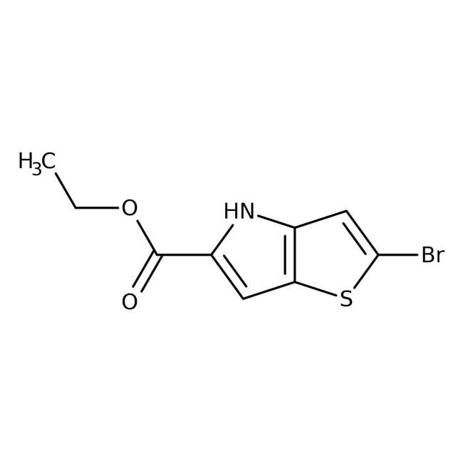 Éthyle 2-bromo-4 H-thieno[3,2-b]pyrrole-5-carboxylate, 95%, Alfa Aesar™ 1g Éthyle 2-bromo-4 H-thieno[3,2-b]pyrrole-5-carboxylate, 95%, Alfa Aesar™