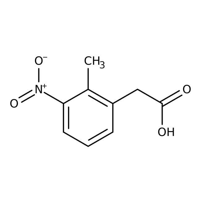 Alfa Aesar™2-Methyl-3-nitrophenylacetic acid, 96% 100g Alfa Aesar™2-Methyl-3-nitrophenylacetic acid, 96%