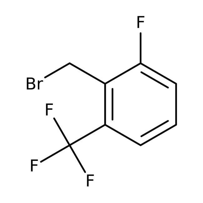 2-Fluoro-6-(trifluoromethyl)benzyl bromide, 95%, ACROS Organics™ 5g 2-Fluoro-6-(trifluoromethyl)benzyl bromide, 95%, ACROS Organics™