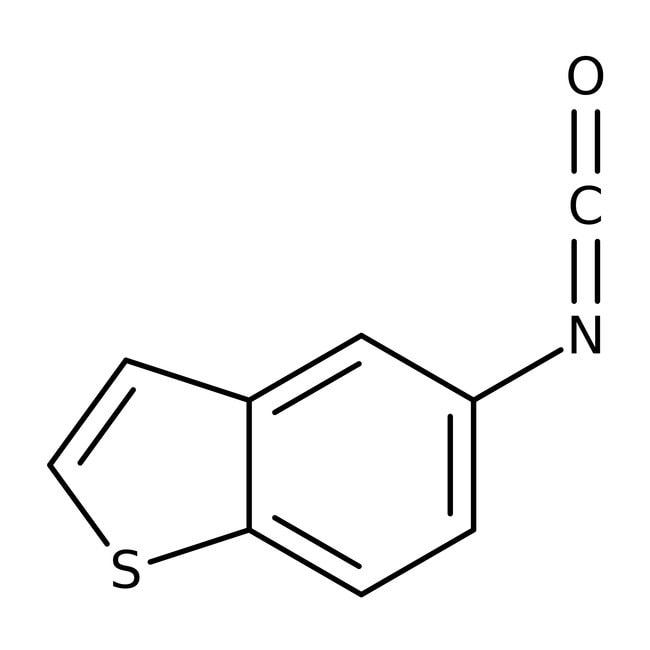 1-Benzothiophen-5-yl isocyanate, 97%, Maybridge Amber Glass Bottle; 5g 1-Benzothiophen-5-yl isocyanate, 97%, Maybridge