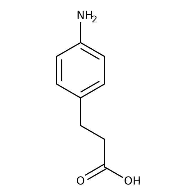 3-(4-Aminophenyl)propionic acid, 97%, ACROS Organics™