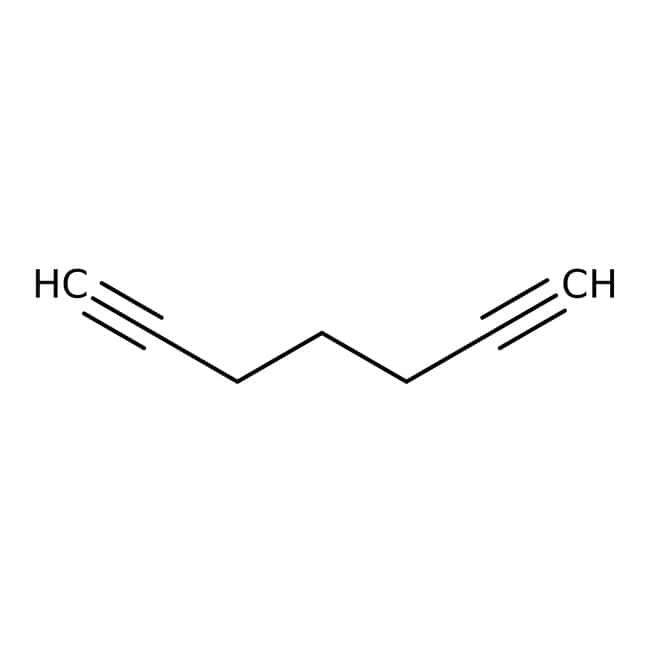Alfa Aesar™1,6-Heptadiino, 97% 100g Alfa Aesar™1,6-Heptadiino, 97%