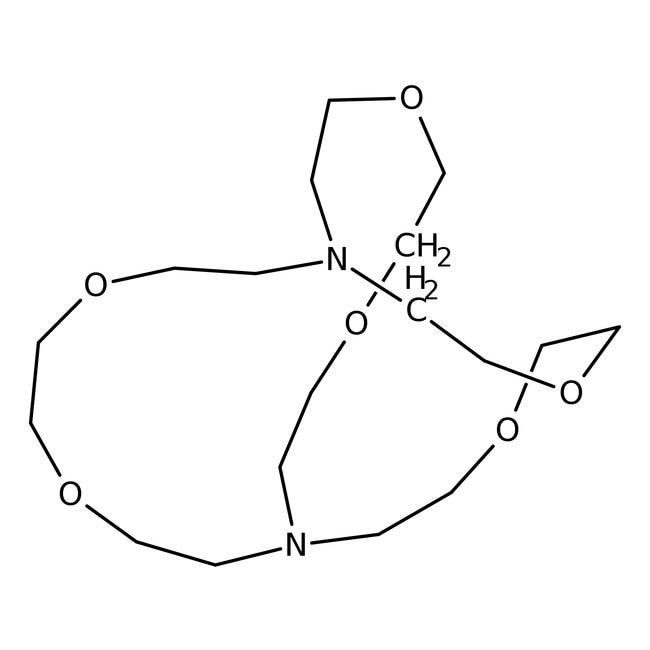 4,7,13,16,21,24-Hexaoxa-1,10-diazabicyclo[8.8.8]hexacosane 98.0+%, TCI America™
