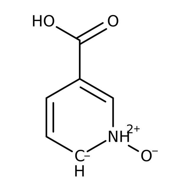 Nicotinic acid N-oxide, 99%, ACROS Organics™ 5g; Glass bottle Nicotinic acid N-oxide, 99%, ACROS Organics™