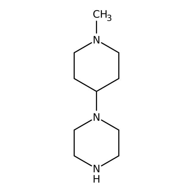 1-(1-Methyl-4-piperidinyl)piperazine, 98%, ACROS Organics