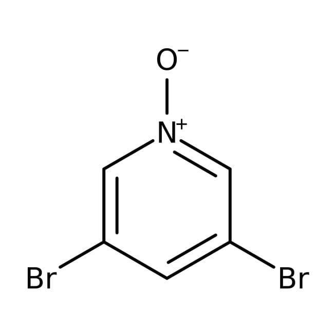 3,5-Dibromopyridine-n-oxide, 97%, ACROS Organics