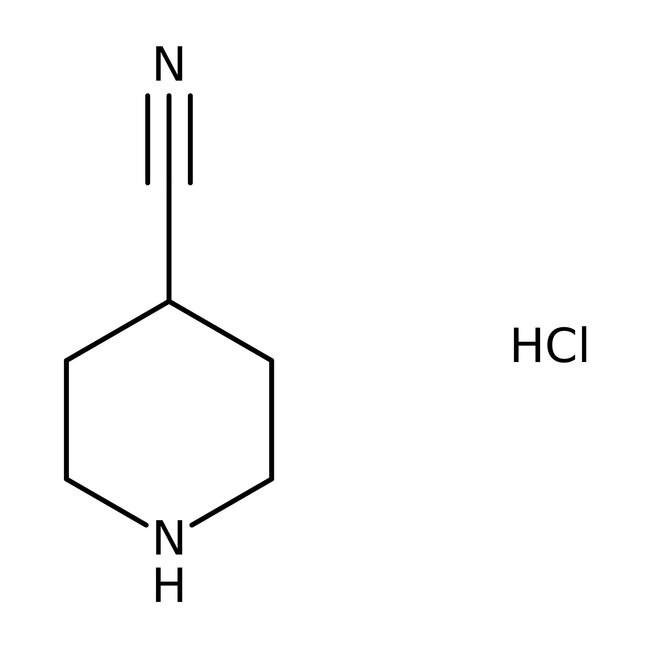 4-Cyanopiperidinhydrochlorid, 97%, Acros Organics™ 5g 4-Cyanopiperidinhydrochlorid, 97%, Acros Organics™