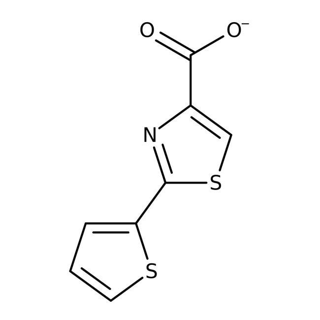 Alfa Aesar™2-(2-Thienyl)thiazole-4-carboxylic acid, 97% 1g Alfa Aesar™2-(2-Thienyl)thiazole-4-carboxylic acid, 97%