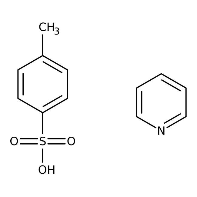 Pyridinium p-toluenesulfonate, 98%, ACROS Organics™ 500g; Glass bottle Pyridinium p-toluenesulfonate, 98%, ACROS Organics™