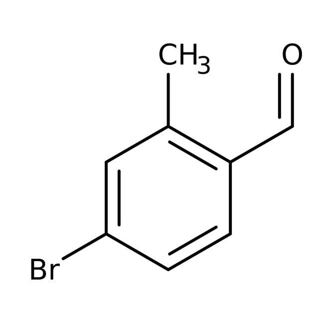 Alfa Aesar™4-Bromo-2-methylbenzaldehyde, 95%: Benzene and substituted derivatives Benzenoids