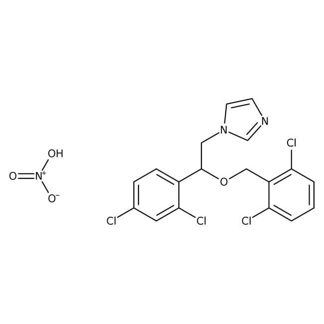 Isoconazole nitrate, 99%, ACROS Organics™ 25g Isoconazole nitrate, 99%, ACROS Organics™