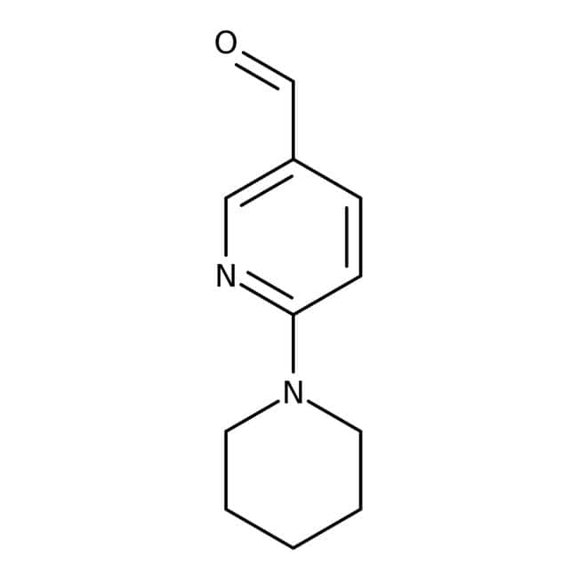 6-piperidin-1-ylnicotinaldehyde, Maybridge Amber Glass Bottle; 5g 6-piperidin-1-ylnicotinaldehyde, Maybridge