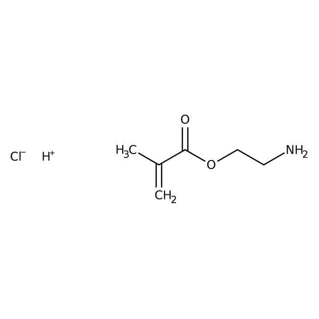 2-Aminoethyl methacrylate hydrochloride, 90%, stabilized, ACROS Organics