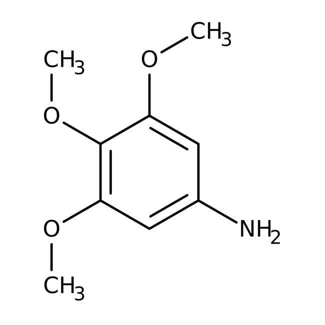 3,4,5-Trimethoxyaniline, 97%, ACROS Organics™ 25g; Glass bottle prodotti trovati