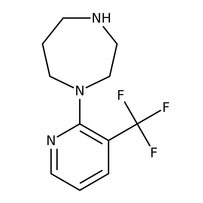 Alfa Aesar™1-(6-Trifluoromethyl-2-pyridyl)-1,4-diazepane, 95% 250mg Alfa Aesar™1-(6-Trifluoromethyl-2-pyridyl)-1,4-diazepane, 95%