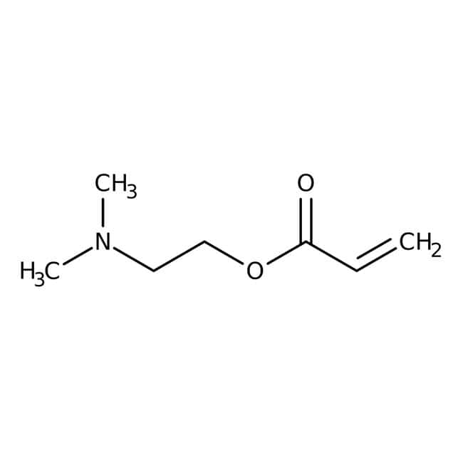 Alfa Aesar™ 2-(Dimethylamino)ethyl acrylate, 98%, stab. with ca 0.1% 4-methoxyphenol 25mL prodotti trovati