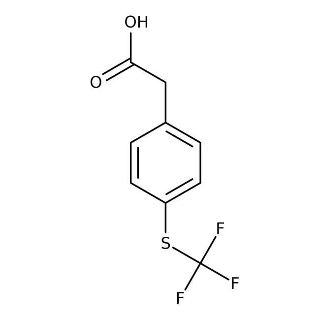 Alfa Aesar™4-(Trifluoromethylthio)phenylacetic acid, 98%
