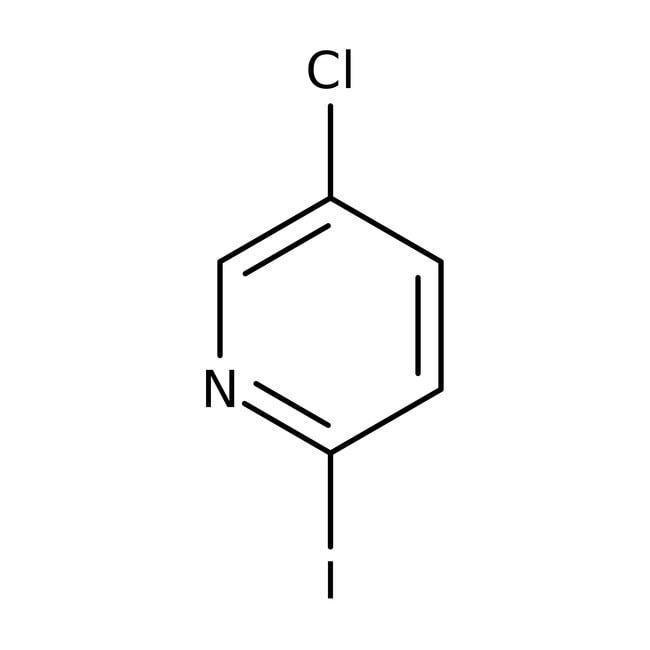 Alfa Aesar™5-Chloro-2-iodopyridine, 98% 5g Alfa Aesar™5-Chloro-2-iodopyridine, 98%