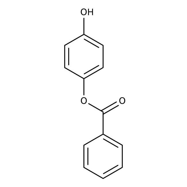 4-Hydroxyphenyl benzoate, 98%, ACROS Organics™ 25g 4-Hydroxyphenyl benzoate, 98%, ACROS Organics™