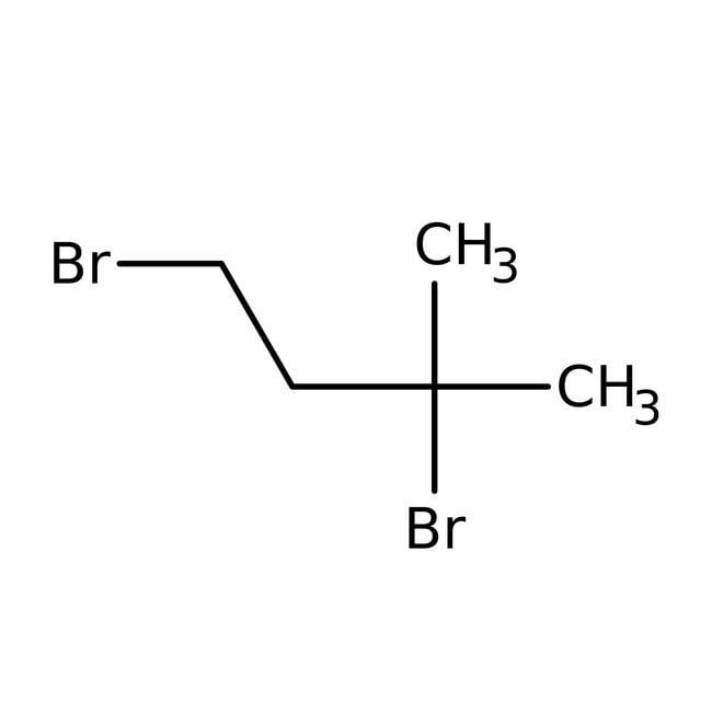 Alfa Aesar™1,3-Dibromo-3-metilbutano, 98% 5g Alfa Aesar™1,3-Dibromo-3-metilbutano, 98%