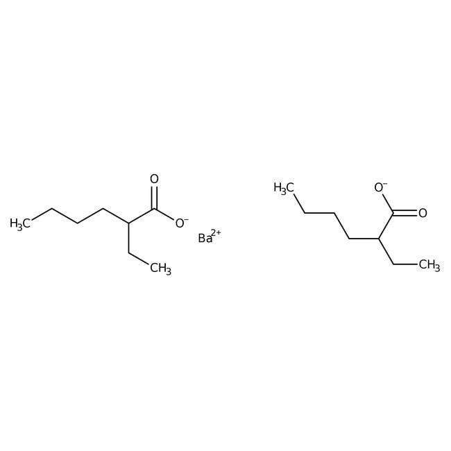 Alfa Aesar™Barium 2-ethylhexanoate, 20% w/w in 2-ethylhexanoic acid 50g Alfa Aesar™Barium 2-ethylhexanoate, 20% w/w in 2-ethylhexanoic acid