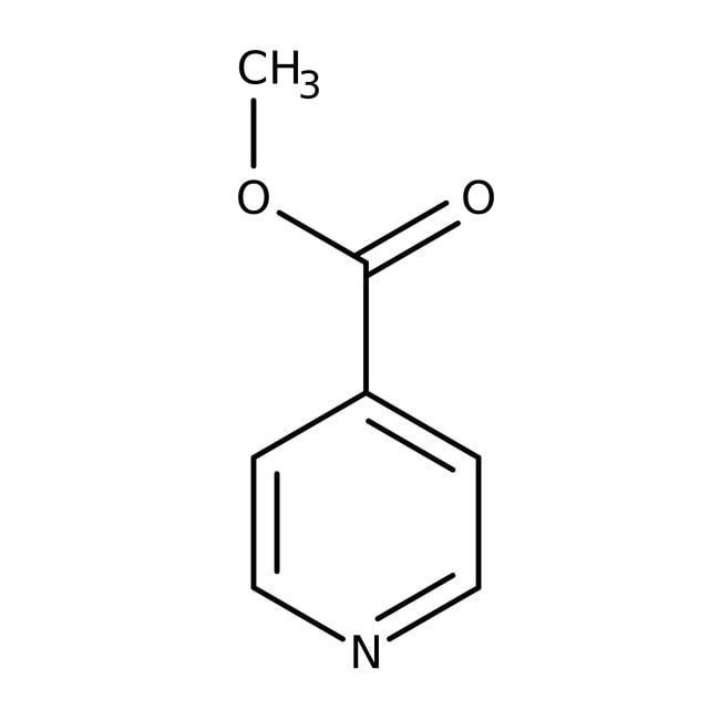 Methyl isonicotinate, 98%, ACROS Organics™ 100mL; Glass bottle Methyl isonicotinate, 98%, ACROS Organics™
