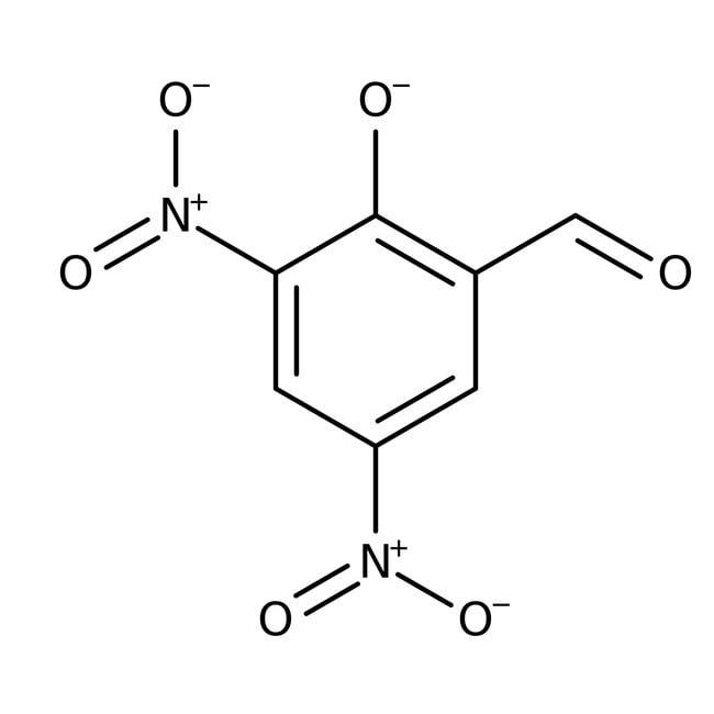 Alfa Aesar™3,5-Dinitrosalicilaldehído, 98% 5g Alfa Aesar™3,5-Dinitrosalicilaldehído, 98%