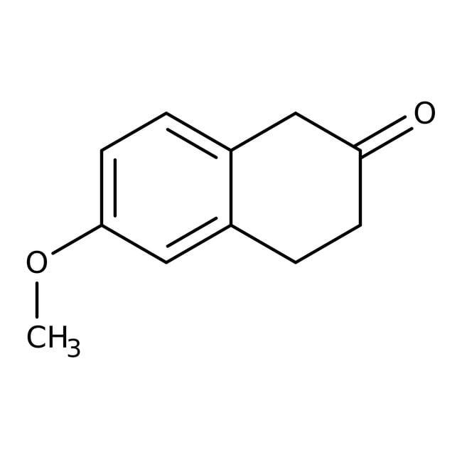 6-Methoxy-2-tetralon, 90%, ACROS Organics™ 250mg; Glasflasche 6-Methoxy-2-tetralon, 90%, ACROS Organics™