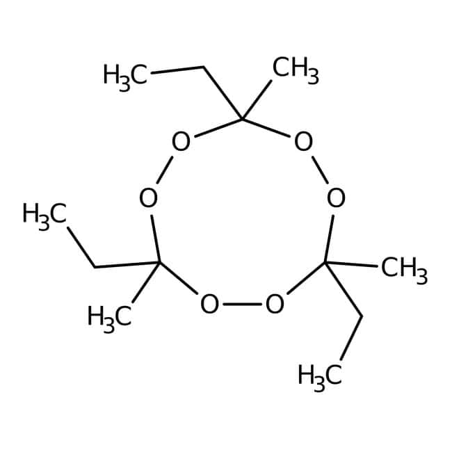3,6,9-Triethyl-3,6,9-trimethyl-1,4,7-triperoxonane, 41% solution in aromatic free mi, ACROS Organics