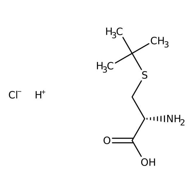 Alfa Aesar™S-tert-Butyl-L-cysteine hydrochloride, 98% 25g Alfa Aesar™S-tert-Butyl-L-cysteine hydrochloride, 98%