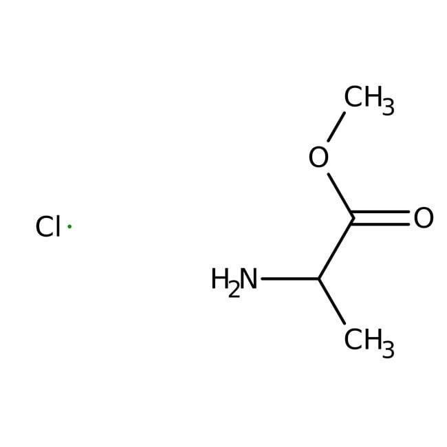 Alfa Aesar™L-Alanine methyl ester hydrochloride, 99% 100g Alfa Aesar™L-Alanine methyl ester hydrochloride, 99%