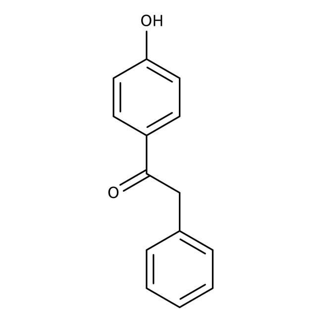 Benzyl 4-hydroxyphenyl ketone, 97%, ACROS Organics™ 25g Benzyl 4-hydroxyphenyl ketone, 97%, ACROS Organics™