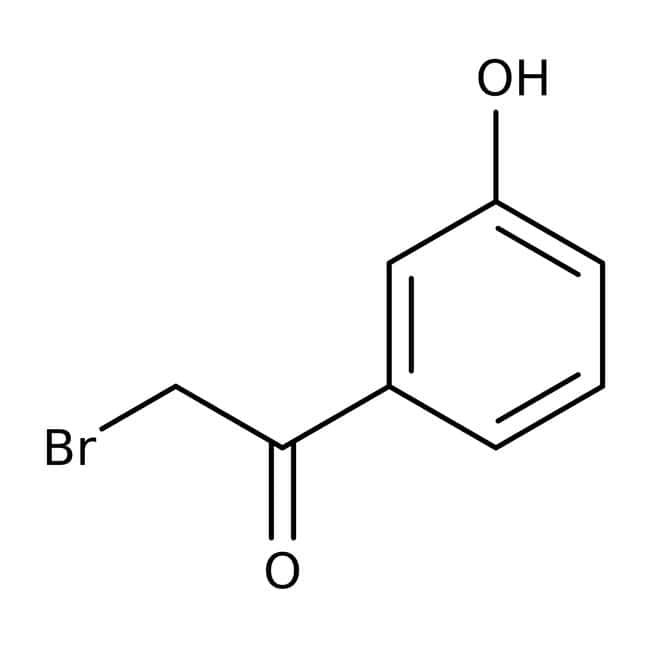 2-Bromo-3'-hydroxyacetophenone, 96%, ACROS Organics™