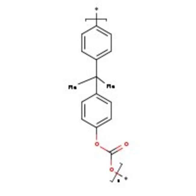 Polycarbonate resin,   M.W. 45.000, pellets, ACROS Organics