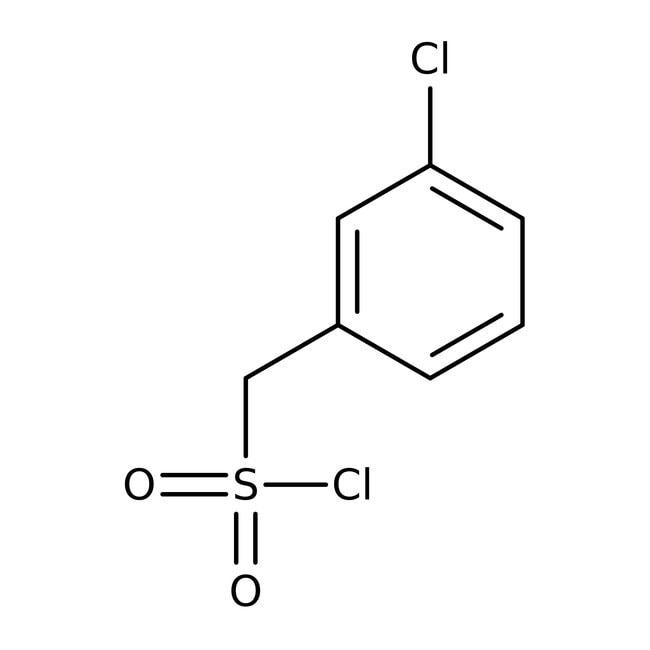 3-Chlorobenzylsulfonyl chloride, 97%, ACROS Organics™  3-Chlorobenzylsulfonyl chloride, 97%, ACROS Organics™