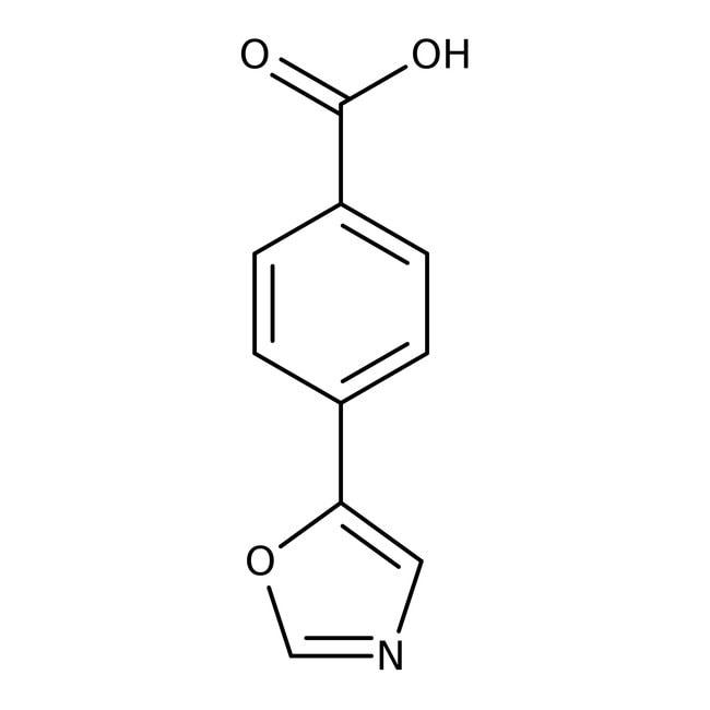 4-(1,3-Oxazol-5-yl)benzoic acid, 97%, Maybridge™