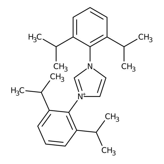 1,3-bis(2,6-diisopropylphenyl)imidazolium chloride, 97%, ACROS Organics