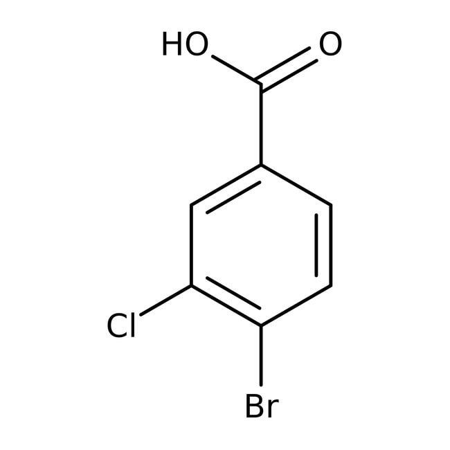 Alfa Aesar™Acide 4-bromo-3-chlorobenzoïque, 97 % 5g Alfa Aesar™Acide 4-bromo-3-chlorobenzoïque, 97 %