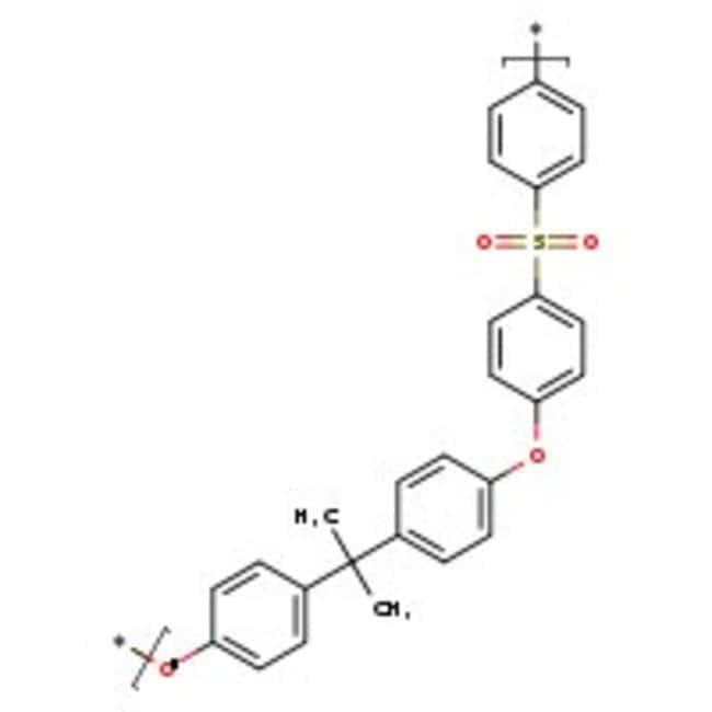 Polysulfone resin, sec. stand., typical M.W.67000, typical M.N.20000, Acros Organics