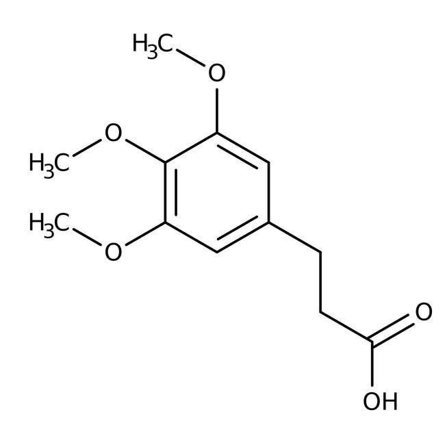 3-(3,4,5-Trimethoxyphenyl)propionic acid, 98%, Acros Organics