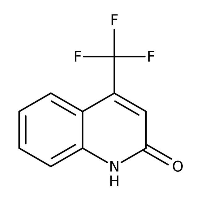 Alfa Aesar™4-Trifluormethyl-2(1H)-chinolinon, 97% 1g Alfa Aesar™4-Trifluormethyl-2(1H)-chinolinon, 97%