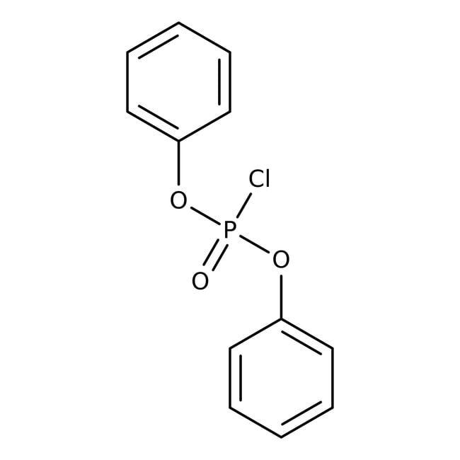 Diphenylchlorphosphat, 98%, ACROS Organics™ 500ml-Glasflasche Diphenylchlorphosphat, 98%, ACROS Organics™